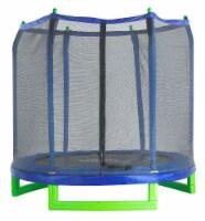 "Upper Bounce 7' Indoor/Outdoor  ""Classic"" Trampoline & Enclosure Set - 36  -5.5"" springs"
