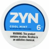 ZYN Cool Mint Nicotine Pouches 6mg