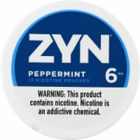 ZYN Peppermint 6mg Nicotine Pouches