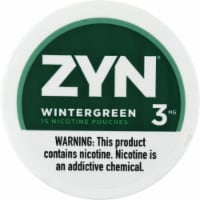 ZYN Wintergreen 3mg Nicotine Pouches
