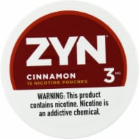 ZYN Cinnamon 3mg Nicotine Pouches