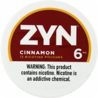 Zyn Cinnamon 6mg Nicotine Pouches