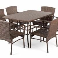 CTE Trading CTE1616SET7 7 Piece Outdoor Dining Patio Furniture Set