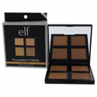 e.l.f. Foundation Palette  LightMedium 0.43 oz