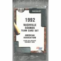 RDB Holdings & Consulting CTBL-021500 Nashville Sounds 1992 Fleer Pro Baseball Trading Card S - 1