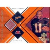 Autograph Warehouse 466391 Akili Smith Player Used Patch Football Card, Cincinnati Bengals - - 1