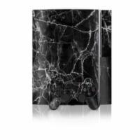 DecalGirl PS3-BLACK-MARBLE PS3 Skin - Black Marble - 1