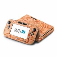 DecalGirl WIIU-PAISORN Nintendo Wii U Skin - Paisley In Orange - 1