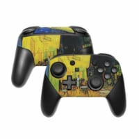 DecalGirl NSWP-VG-CAFETERRACE-NIGHT Nintendo Switch Pro Controller Skin - Cafe Terrace At Nig - 1