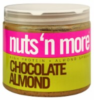 Nuts N More  High Protein + Almond Spread   Chocolate Almond - 16 oz