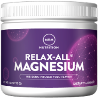 MRM Nutrition Relax-All Magnesium Powder - Yuzu Hibiscus