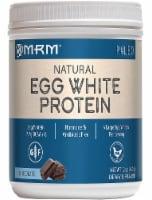 MRM  Natural Egg White Protein   Chocolate