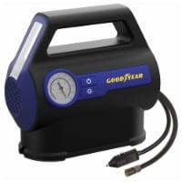 Goodyear Portable Analog Tire Inflator - Black/Blue - 1 ct