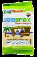 SeaSnax Wasabi Roasted Seaweed Snack