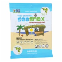 SeaSnax Organic Premium Roasted Seaweed Snack - Original - Case of 16 - 0.54 oz. - Case of 16 - 0.54 OZ each