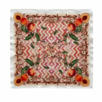 Ma Perle Peach Collection 18 W X 18 H Orange Polyester Napkins (Set of 2) - 1 unit