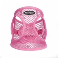 Bark Appeal PPNEW-XS Netted EZ Wrap Harness, Pink - Extra Small - 1
