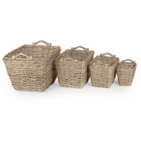 Zentique TC08221C77 S French Market Basket, Small - 11 x 9 x 8.5 in.