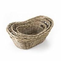 Zentique TC11170C77M French Market Basket Without Handle, Medium - 29 x 13 x 18 in.