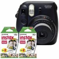 Fujifilm Instax Mini 8 Instant Film Camera - Black With 40 Shots