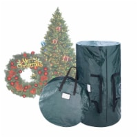 Christmas Tree and Wreath Storage Bag Organizers Zipper and Handles Included