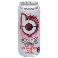 Bang Delish Strawberry Kiss Energy Drink - 16 fl oz
