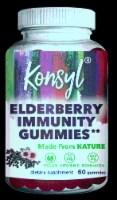 Konsyl Elderberry Immunity Gummies