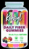 Konsyl Daily Fiber Gummies - 60 ct