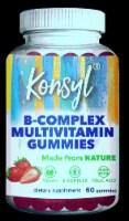 Konsyl B-Complex Multivitamin Gummies