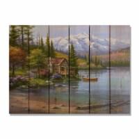 Day Dream HQ SKPS3324 33 x 24 in. Kims Perfect Setting Inside & Outside Cedar Wall Art - 1
