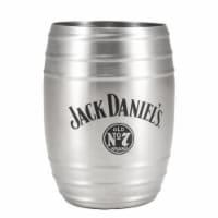 Jack Daniels 803078 Jack Daniels Metal Barrel Cup - 14 oz