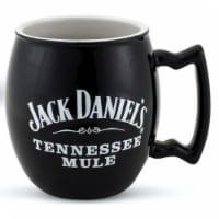 Jack Daniels 803077 Jack Daniels Ceramic Coffee Mug - 18 oz