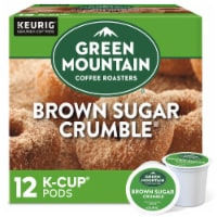 Green Mountain Coffee Brown Sugar Crumble Donut Flavored Coffee K-Cup Pods 12 Count