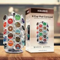 Keurig® K-Cup Pod Carousel - Silver