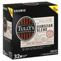 Tully's Coffee Hawaiian Blend Coffee K-Cup Pods