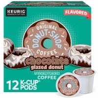 The Original Donut Shop™ Chocolate Glazed Donut Medium Roast Coffee K- Cup Pods - 12 ct