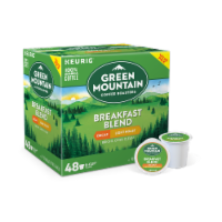 Green Mountain Breakfast Blend Decaf Light Roast Coffee K-Cup Pods