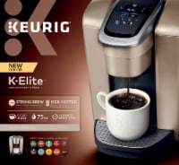 Keurig® Brewer K-Elite Coffee Maker - Brushed Gold