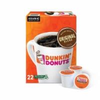 Keurig Dunkin' Donuts Original Blend Coffee K-Cups 22 pk - Case Of: 1; - Count of: 1