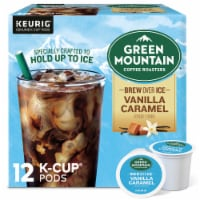 Green Mountain Coffee Roasters Brew Over Ice Vanilla Caramel K-Cup Pods - 12 ct