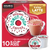 The Original Donut Shop® Red Velvet Latte K-Cup® Coffee Pods - 10 ct