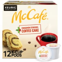 McCafe® Cinnamon Streusel Coffee Cake Coffee K-Cup® Pods - 12 ct