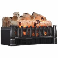 Duraflame Electric Log Set 4600 BTU Portable Heater with Realistic Ember Bed - 1 Piece