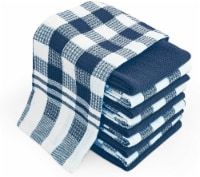 Chef Pomodoro Everyday Kitchen Towels - 10-Pack - 100% Pure Cotton Waffle Dishcloth