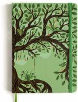 Rileys Tree of Life Journal Notebook, 8  x 6 , Unlined 120 Pages, Ivory Paper - 1