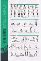 FitMate Stretching Workout Exercise Poster - Workout Routine - 1