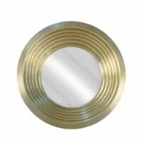 Mirror 48  Wood/Metal, Gold - 1