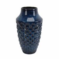 Ceramic Vase 12 H, Blue - 1