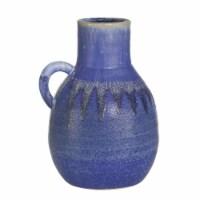 Ceramic 10  Jug, Blue - 1