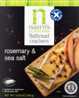 Nairn's Gluten Free Rosemary & Sea Salt Flatbread Crackers - 5.29 oz